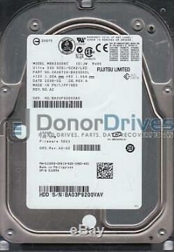 MBA3300NC, PN CA06708-B40300DL, Fujitsu 300GB SCSI 3.5 Hard Drive
