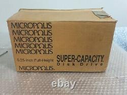 Micropolis 3.6GB 5.25 FH 50-Pin SCSI NEW Hard Drive (1936) NUOVO
