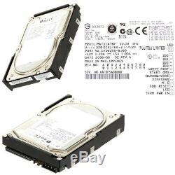 NEW HARD DRIVE FUJITSU MAT3147NP 146GB 10K U320 68pin SCSI