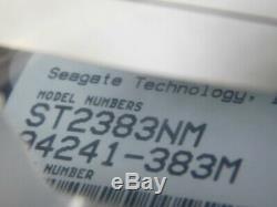 NOS Vtg Seagate ST2383NM 337MB 5.25 SCSI 3600 RPM Hard Drive Desktop Computer
