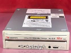 Nakamichi 5 Disc CD-ROM Mini Changer 16X MJ-5.16 50 Pin SCSI Interface