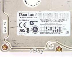 QUANTUM, 2.1S, FIREBALL SE 2.1S SE21S011 REV 01-B 50 pin SCSI 2.1gb