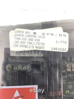 Quantum Lightning Prodrive 730s 50pin SCSI Hard Drive P/nlt73s011 Rev04-h