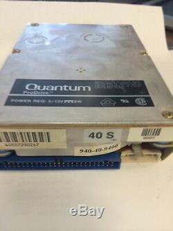 Quantum Prodrive 40S 940-40-9400 3.5 50 Pin 40MB SCSI HDD