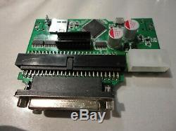 SCSI2sd Sampler Virtual SCSI Hard Drive & CD ROM player 1 x Partit 4gb SD