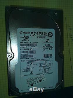 SEAGATE BARRACUDA ST1181677LWV 181GB SCSI U320 68-Pin 7200RPM Hard Disk Drive