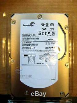 ST3146855LC Seagate Cheetah 15K. 5 146GB Internal 3.5 SCSI U320 80PIN Hard Drive