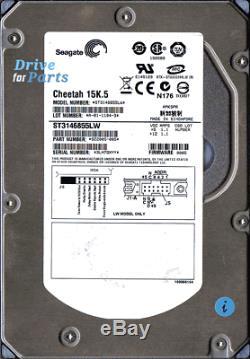 ST3146855LW, PN 9Z2005-005, Seagate 146GB SCSI U320 3.5 Hard Drive (Ref. D287)