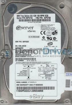 ST336605LC, 3FP, AMKSPR, PN 9T5006-023, FW B243, IBM 35GB SCSI 3.5 Hard Drive
