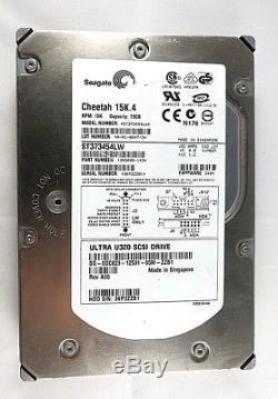 Seagate Cheetah ST373454LW 73GB 15KRPM 3.5 SCSI SAS Server Hard Drive PN3X5005