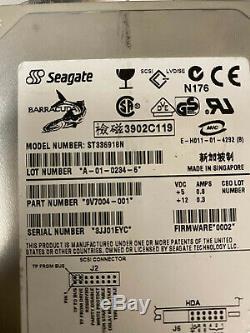 Seagate ST336918N 36gb 50PIN Scsi Rare
