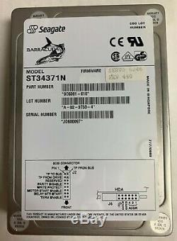 Seagate ST34371N 4.3GB 50 pin SCSI Hard Drive 50-PIN