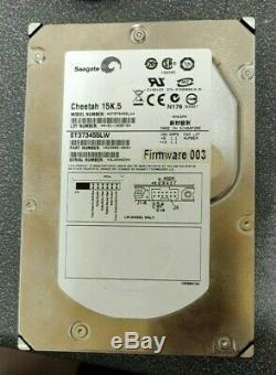 Seagate ST373455LW Cheetah 15K. 5 73GB 15K RPM SCSI U320 68-Pin 3.5 Hard Drive