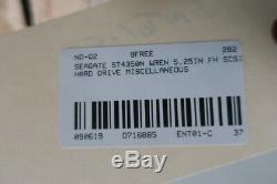 Seagate ST4350N Wren 5.25in Fh Scsi Hard Drive