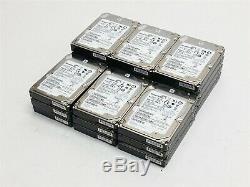 Seagate Savvio 600GB 10K 2.5 Sas 6Gbps DP Hard Drive HDD ST9600205SS Lot 21