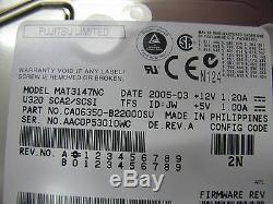 Sun XTA-3310-146GB-10K 146GB Scsi SIC 80pin 540-5735 390-0178 10K RPM MAT3147NC
