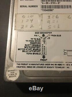 Tested Seagate Barracuda ST34371N 9C6001-010 50-pin SCSI Hard Drive Disk 2GB