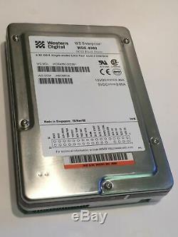 WESTERN DIGITAL WDE4360-0003B1 4.3GB 50 PIN SCSI HARD DRIVE aa4cc6